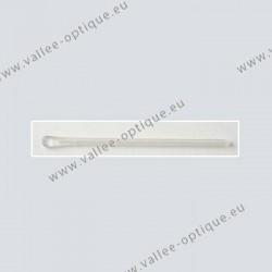 Embouts en silicone extrémité renforcée - cristal