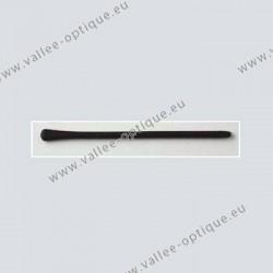 Embouts en silicone extrémité renforcée - noir
