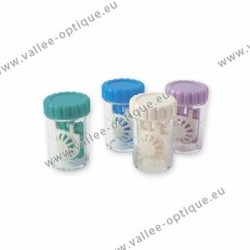 Vials for contact lenses