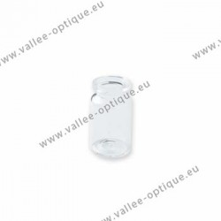 Contact lens glass vial