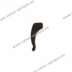Crochets de sécurité en silicone - Noir