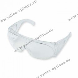 Crystal polycarbonate protective goggles