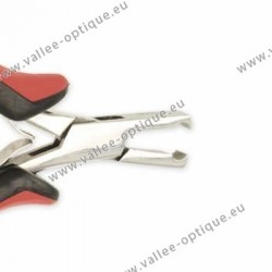 Straight front cutting plier