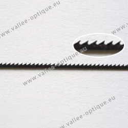 Flat saw blades for plastic
