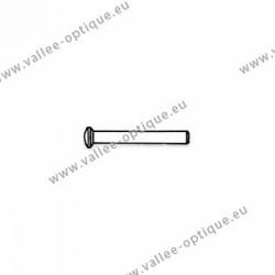 Rivets en métal 1.18 x 1.8 x 8 mm