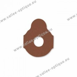 Lens edging pads for hard blocks - 24 mm