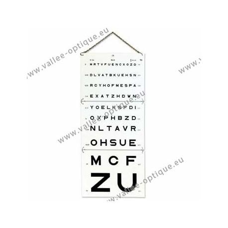 Monoyer sight test