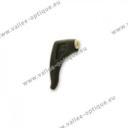 Silicone frame locks with blocking part - Black
