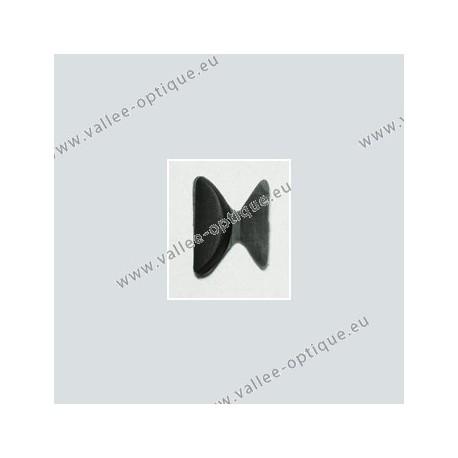 Plaquettes anti-glisse pour montures plastiques - noir