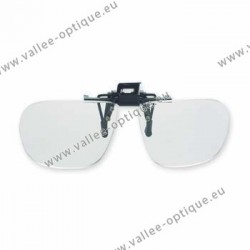Spring flip up glasses - large model - AC lenses + 2.5