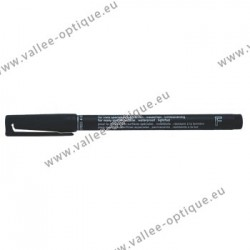 Crayon feutre permanent lumocolor noir fin