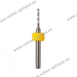 Foret hélicoïdal en carbure de tungstène Ø 0,9 mm