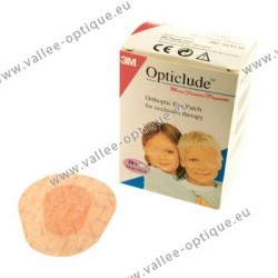 3M opticlude orthoptic eye patches - adult type