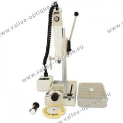 Drilling kit with variable speed drillling machine - white