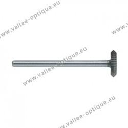 Fraise disque biconique - diam. 6,0 mm