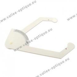 Temple width caliper