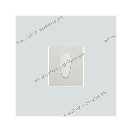 Plaquettes autocollantes, silicone, 15 mm