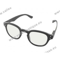 Magnifying glasses, protection against blue light, grey, +2.5