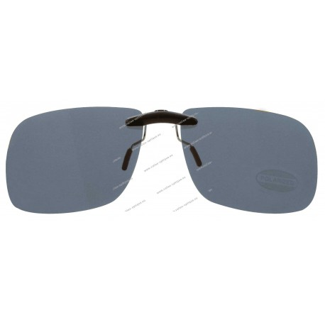 Sun clips with mini mechanism, small size, grey
