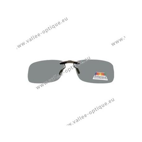 Sun clip with mini mechanism, medium, grey