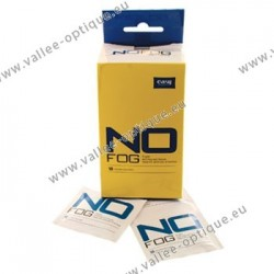 Anti-fog impregnated wipes