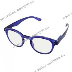Magnifying glasses, protection against blue light, blue, +1.0