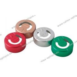 Capsules pour flacon lentilles