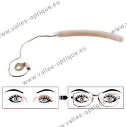 Eyelid support, Left