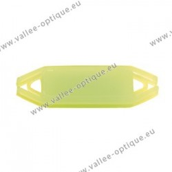 Flexible label supports for frames, anise green