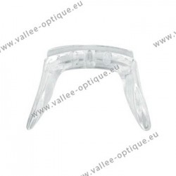 Silicone screw-on saddle bridge, 19 x 32 x 22