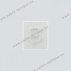 Plaquettes type B + L, acétate, transparentes
