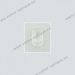 Plaquettes rectangulaires silicone, système 3