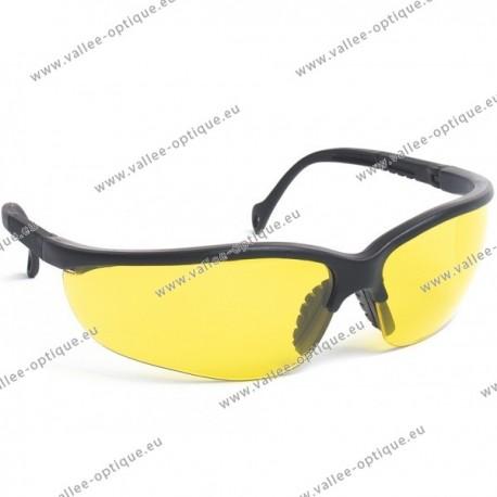 Lunettes de protection jaunes