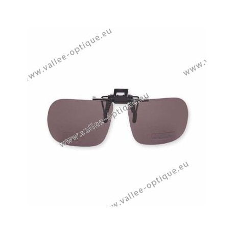 Spring clips flip-up with plastic mechanism, non polarized, grey, cannot be cut