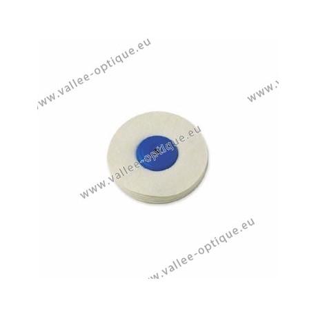 Soft felt wheel, plastic center, Ø 100 mm