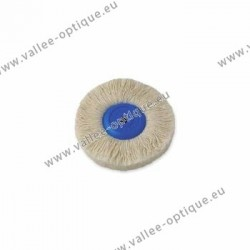 Cotton yarn brush, plastic center, Ø 95 mm