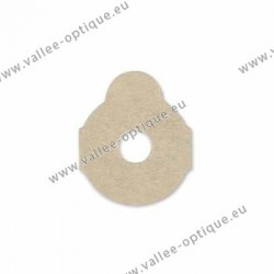 Lens edging pads - round - 24 mm