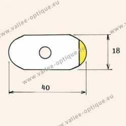 Films antitorsion pour verres traités - petite taille