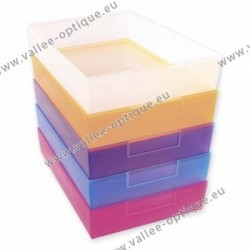 Job trays - crystal - 240 x 167 x 49 mm