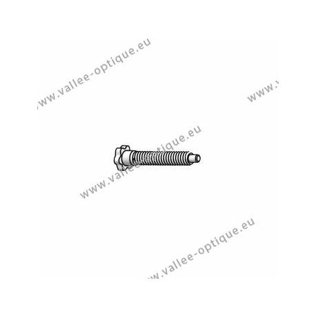 Star head screw 1.2 x 2.3 x 10.5 - white