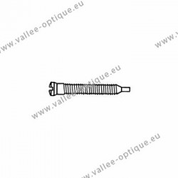 Self-tapping screw 1.5 x 1.9 x 11 - white