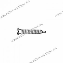 Self-tapping screw 1.5 x 2.8 x 11 - white
