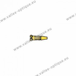 Stainless steel self-centering screw 1.2 x 2.0 x 3.5 - gold