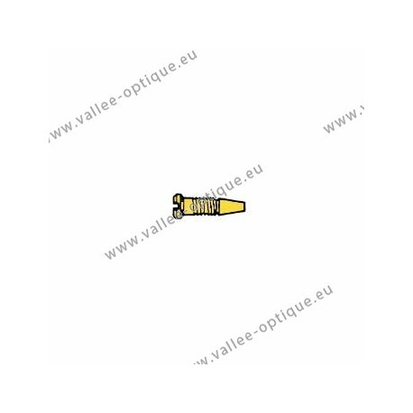 Stainless steel self-centering screw 1.4 x 2.0 x 3.5 - gold