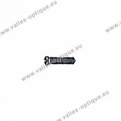 Cross head screw with plastic coating 1.4 x 2.0 x 5 - white