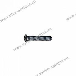 Cross head screw with plastic coating 1.4 x 2.5 x 10 - white