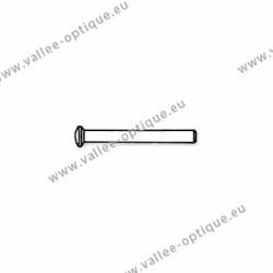 Rivets en métal 1.18 x 1.8 x 10 mm