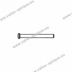 Rivets en métal 1.18 x 1.8 x 12 mm