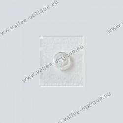 Plaquettes à clipper 9 mm symétriques - silicone - 10 paires