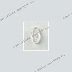 Plaquettes à clipper 15 mm symétriques - silicone - 10 paires